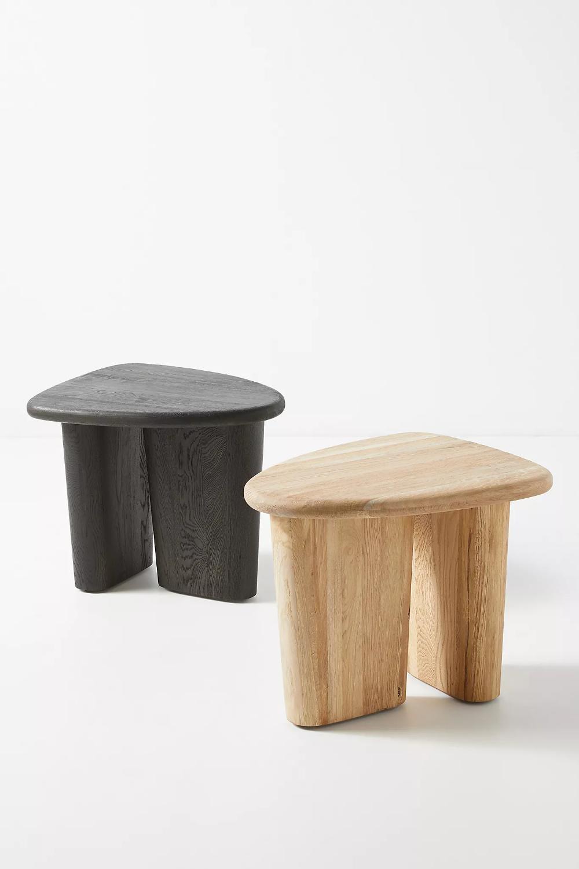 Kalle Sculptural Oak Side Table Oak Side Table Side Table Side Table Wood
