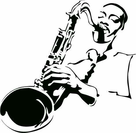 Pop art portraits music illustration music drawings jazz art art pics music life urban art jazz saxophone photo draw