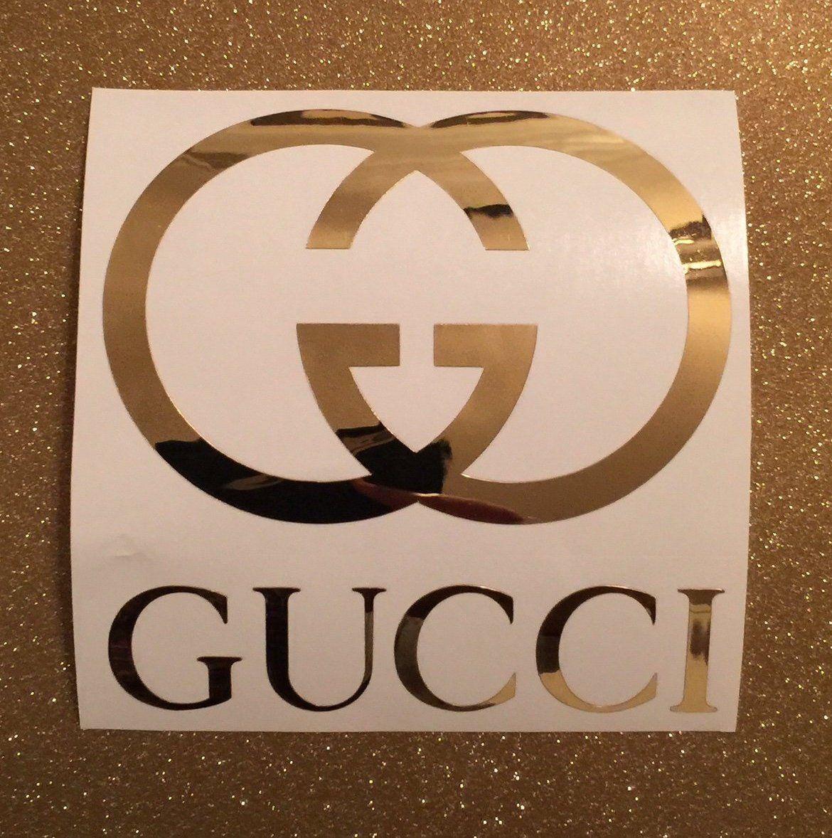 Gucci Wallpaperpattern Decal Louis Vuitton Sticker