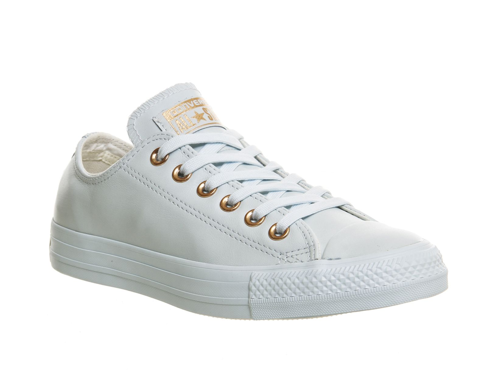 36853961581f91 Buy Powder Blue Rose Gold Exclusive Converse All Star Low Leather from  OFFICE.co.uk.