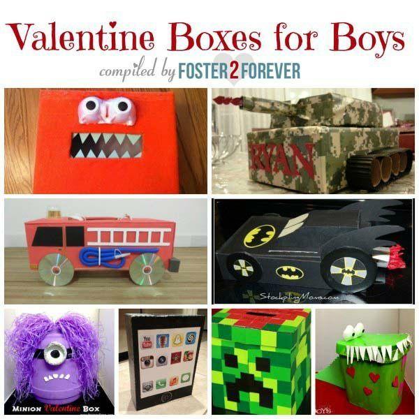 Fabulous Valentine Box Ideas For Boys Boys Valentines Boxes Valentine Day Boxes Valentines For Boys
