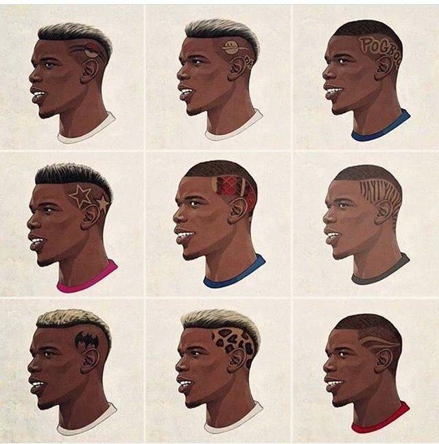 Which Haircut Is Pogba S Best Black Hair Inspiration Black Couple Art Pogba Hair