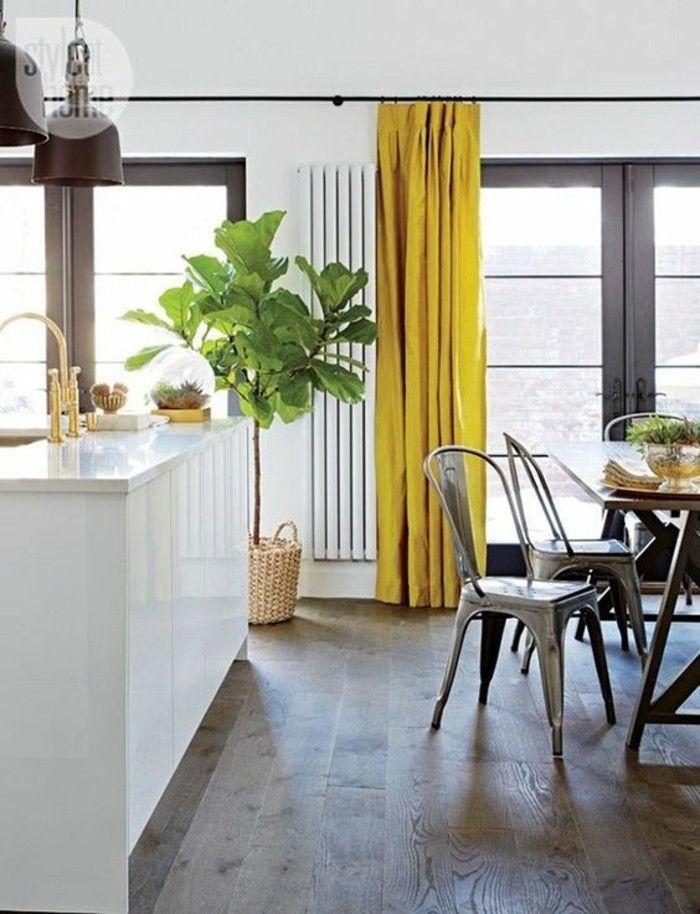 La couleur jaune moutarde - nouvelle tendance dans l ...