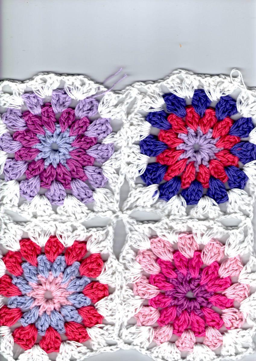 7b502d22c Acolchado Y Mantas Para Bebes Al Crochet Hilo O Lana | Crochet ...