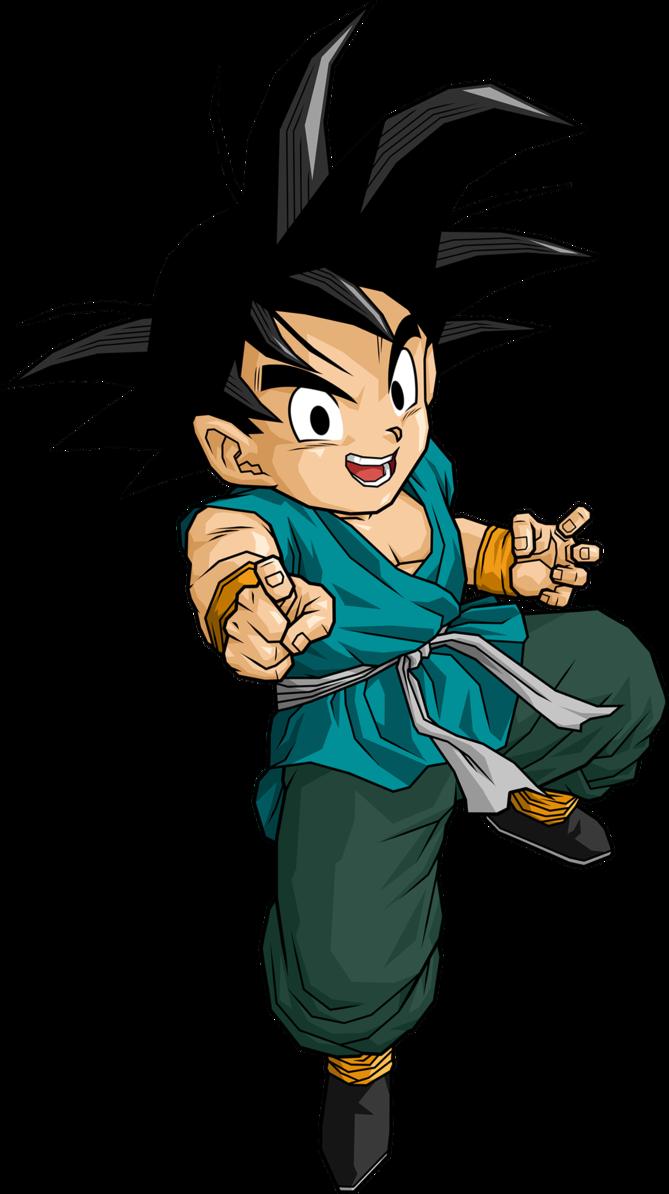 Kid Goku EOZ by DB-Own-Universe-Arts on DeviantArt   Anime dragon ball, Kid  goku, Dragon ball super