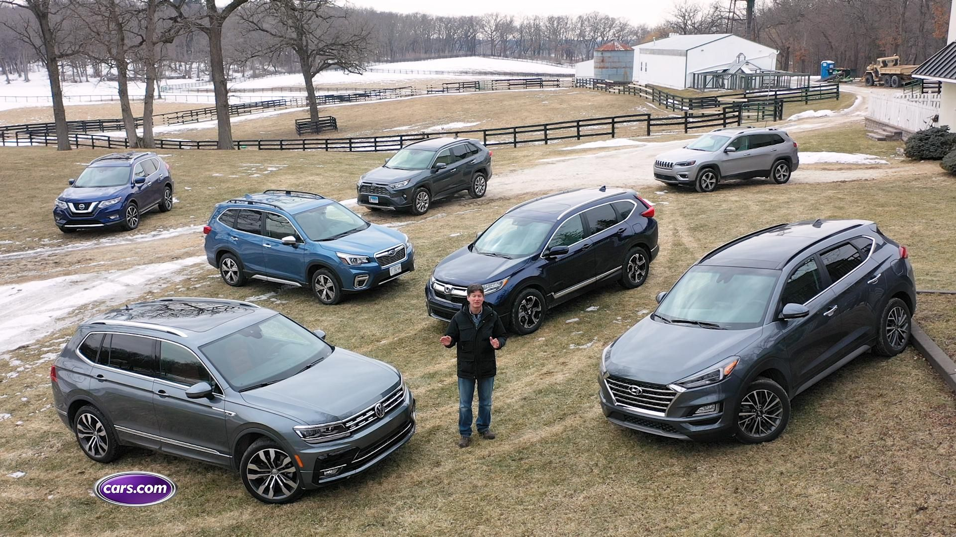 2019 Compact SUV Challenge How Do the CRV, Rogue and