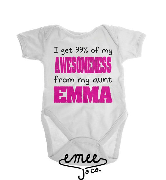 811704b44 Funny Baby Clothes, Aunt Gift, Gifts for Aunts, I Love My Aunt, Aunt Shirt,  Aunt to Be, Aunt Baby Clothes, Baby Girl Gift, Baby Boy Gift