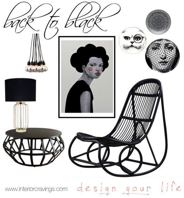 black details and accent pieces decor