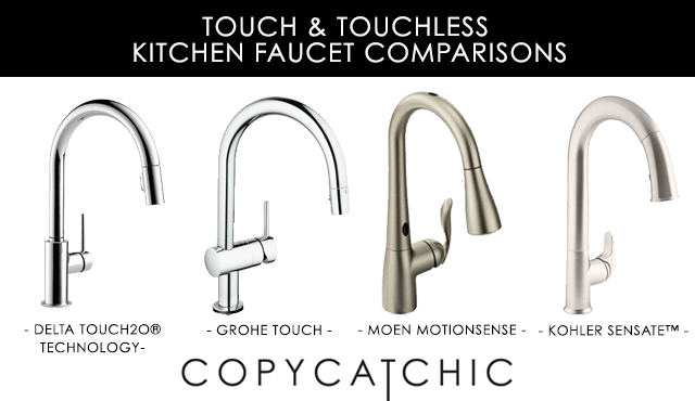 touch and touchless kitchen faucet comparison pros and Modern Kitchen Sink Faucet Connnects Sinks for Kitchen Faucets From Walls