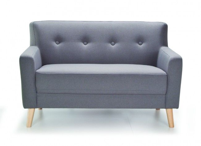 Ream Midcentury 2 Seater Sofa With Wooden Legs   Modern Sofas ...