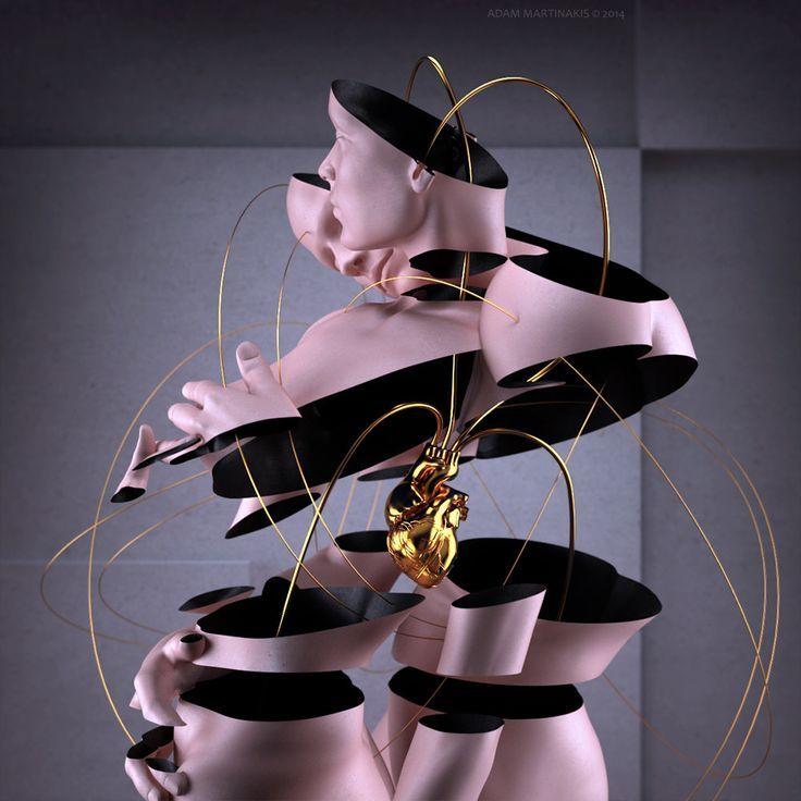 Otherworldly New Works by Digital Artist Adam Martinakis   Hi-Fructose Magazine