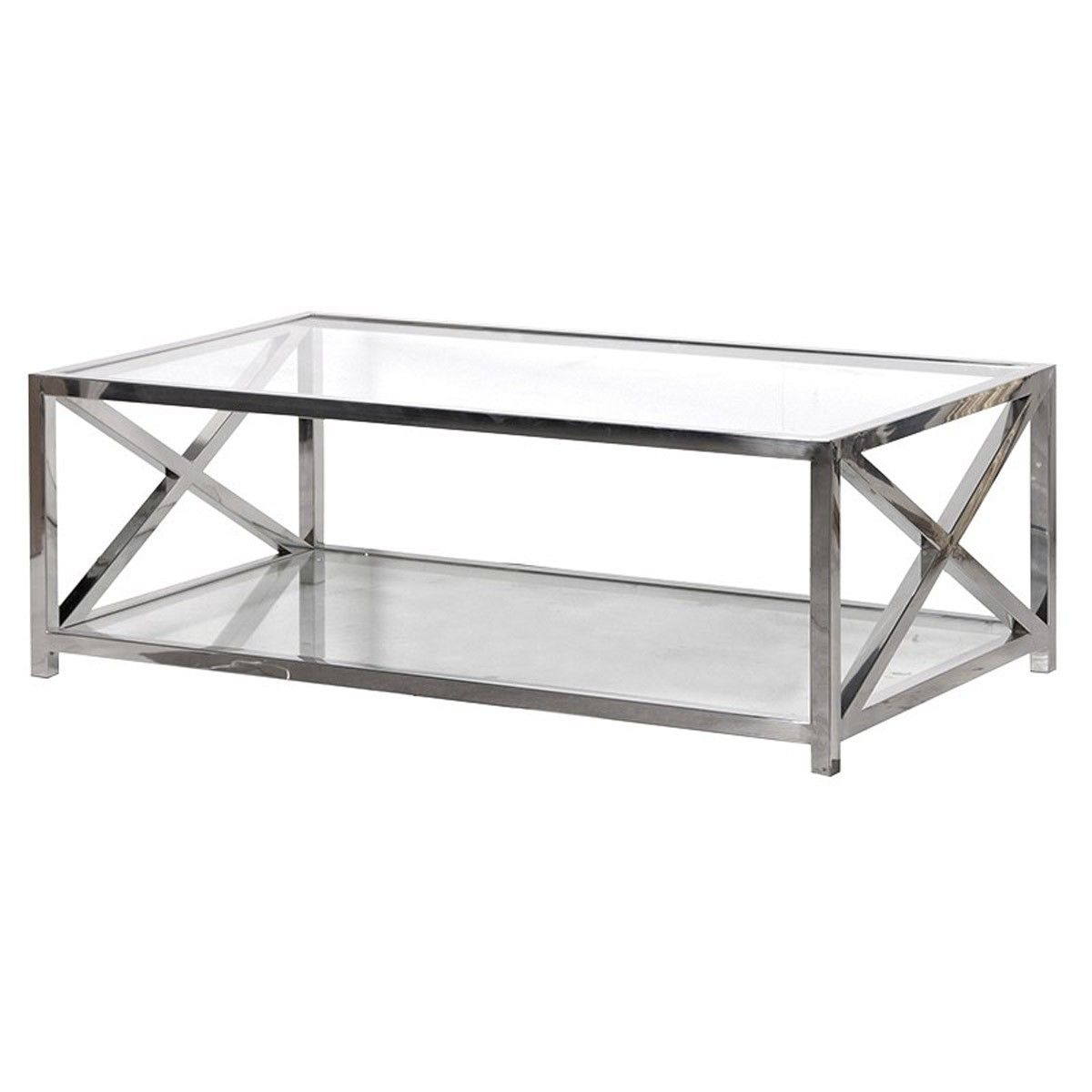 Acier Coffee Table Coffee Table X Frame Coffee Table Side Coffee Table [ 1200 x 1200 Pixel ]