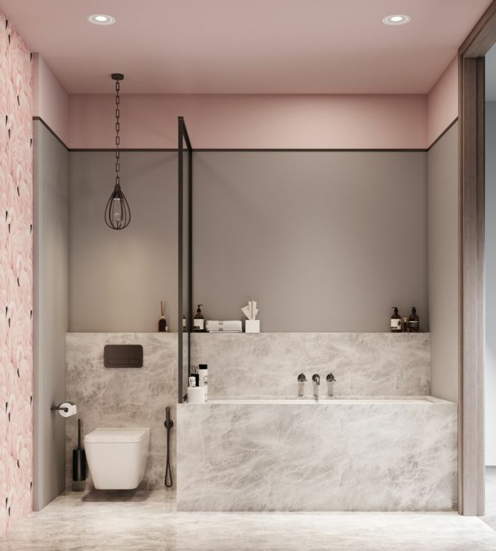 1001 badezimmer ideen f r kleine b der zum erstaunen pink bathroom decor bathroom bathroom