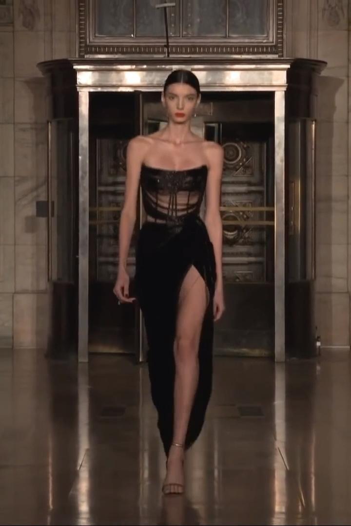 Oscar de la Renta | Look 47 | Fall Winter 2020 / 2021 Ready-to-Wear Collection – Dresses & outfits