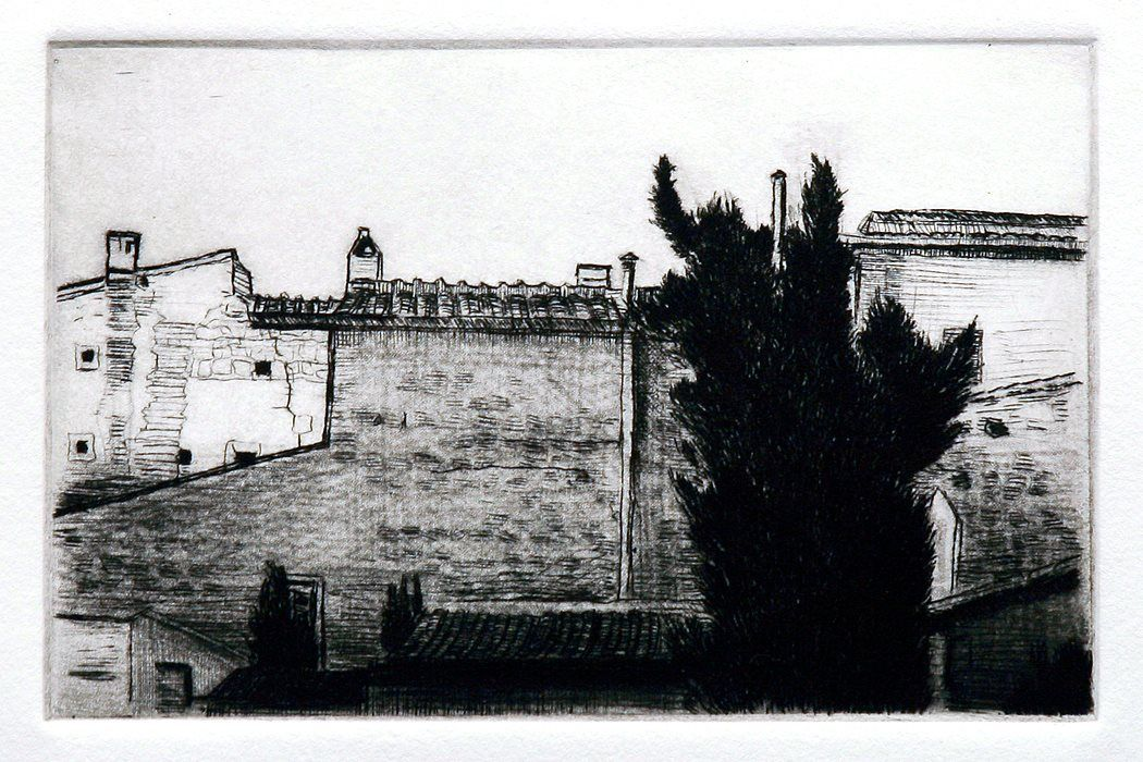 Dry point, Stephen Magsig