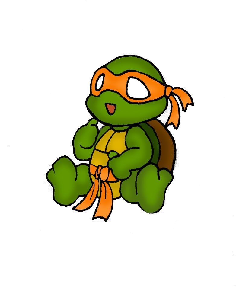 Cute Ninja Turtle Drawing Images Pictures Becuo Art