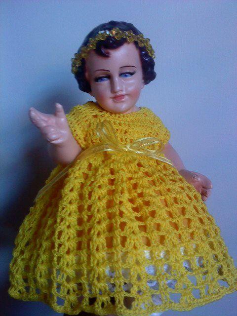 Crochet Vestido Niño Dios Niño Dios Vestido Vestidos