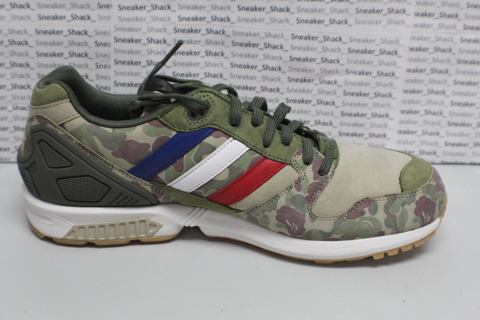 c6491f56bfe2 NEW DS Adidas Undefeated BAPE A Bathing Ape ZX 5000 Camo Vintage Sneakers