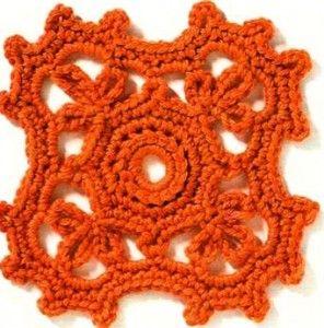 Trefoil Square Crochet