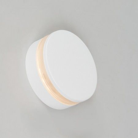 Moderne Wandleuchte Weiss Inkl Led Ip44 Theo Round Wandleuchte