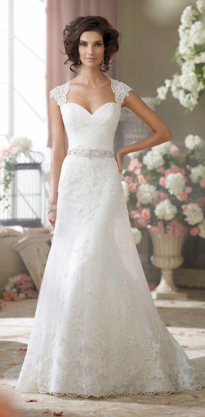 David Tutera for Mon Cheri Fall 2014 Bridal Collection   Vestido de ...