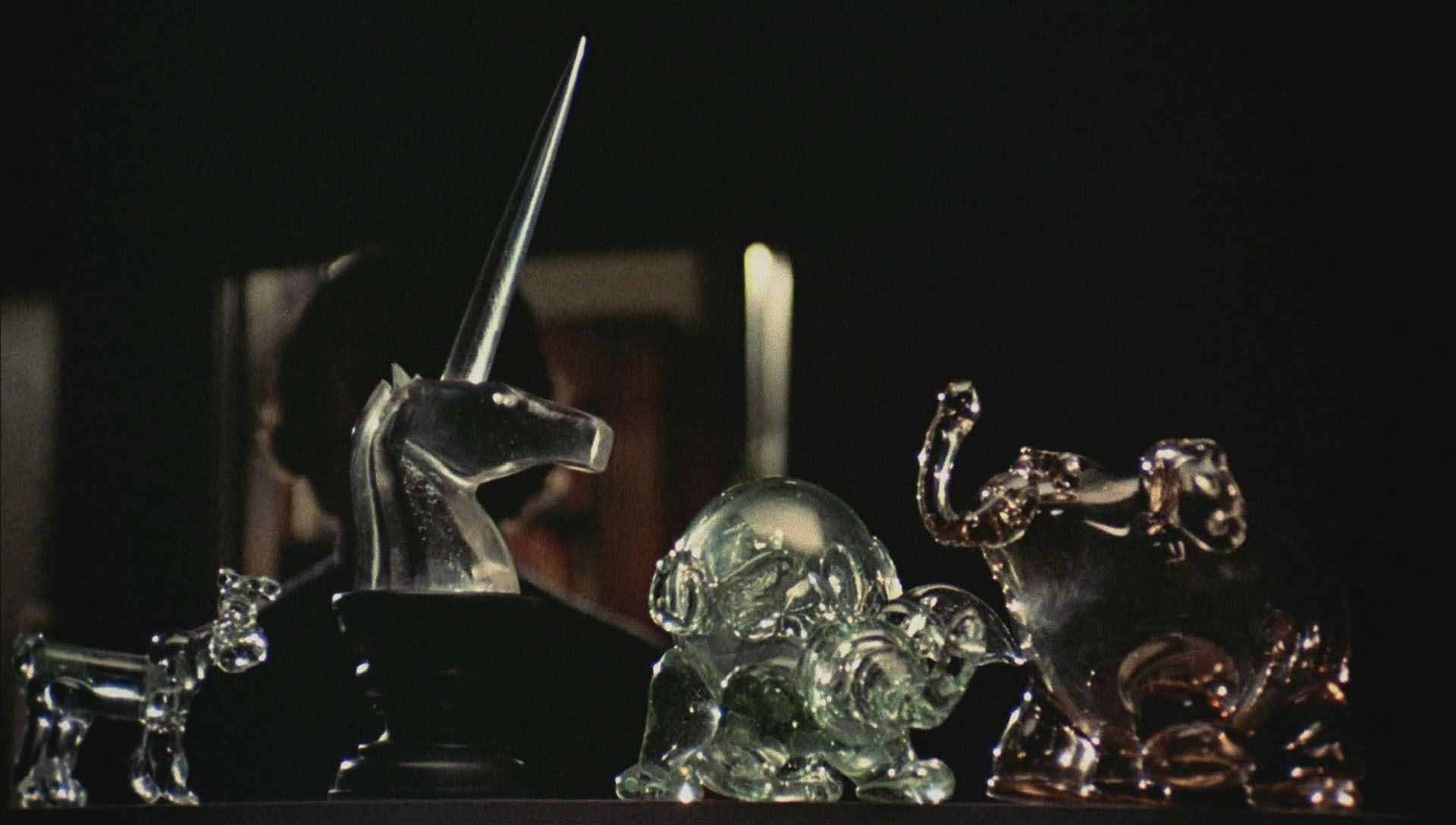 Black Christmas 1974 Glass Unicorn Alone in the House