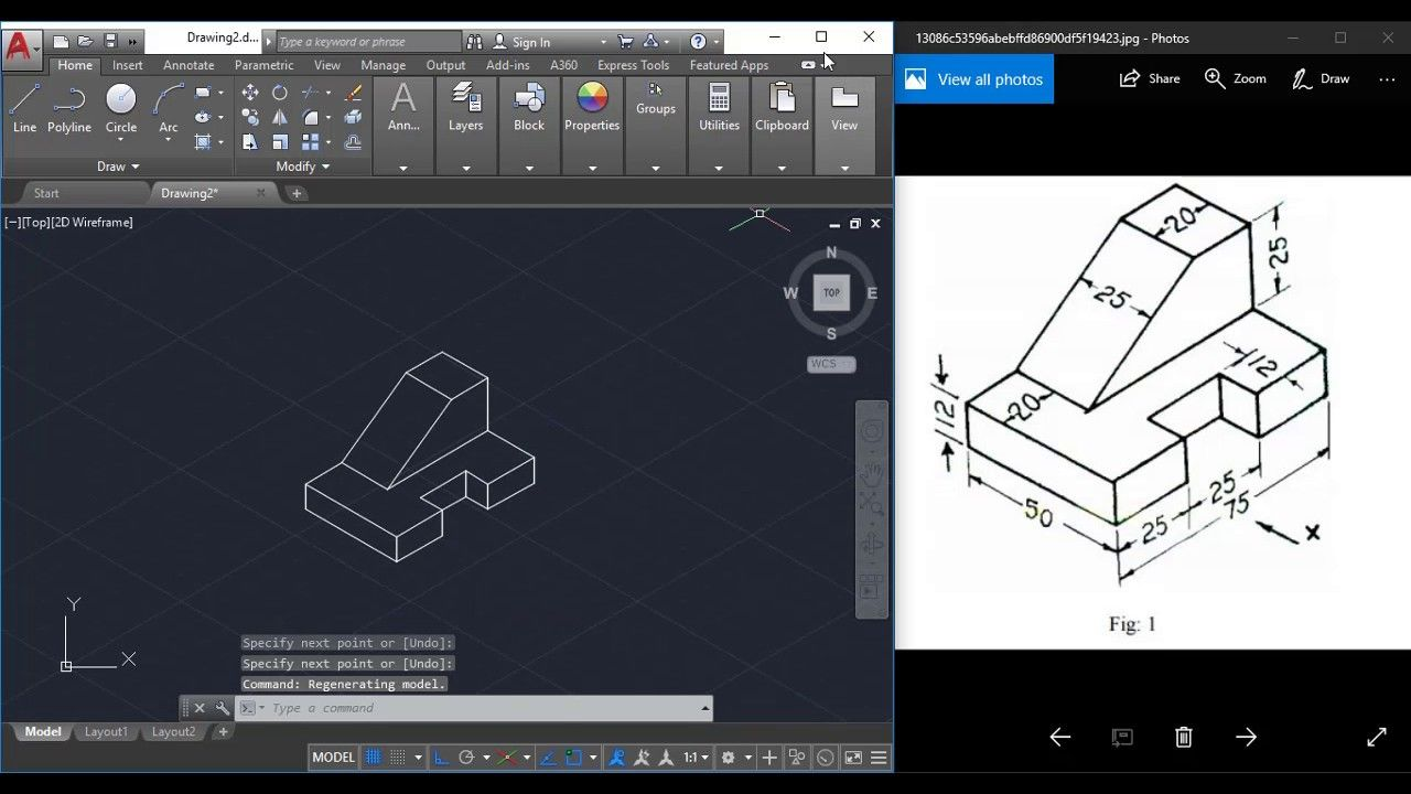 how to draw isometric in autocad 2007