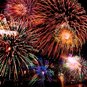 Look at the fireworks light up the night sky | Fireworks ...
