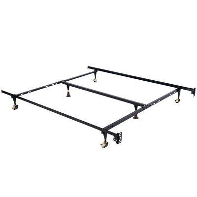 Winston Porter Ofelia Adjustable Bed Frame Steel Bed Frame