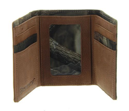 Tri-Fold Wallet in MOINF Camo by Browning