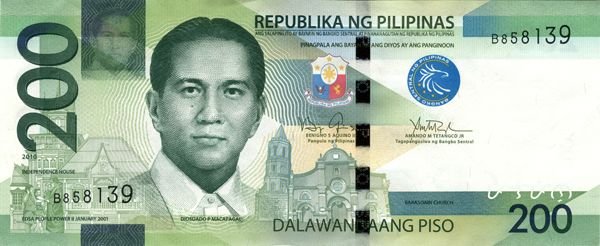 Philippine peso on Pinterest Moneta money, Us currency bills and - play money template