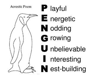 Image result for acrostic animal poem