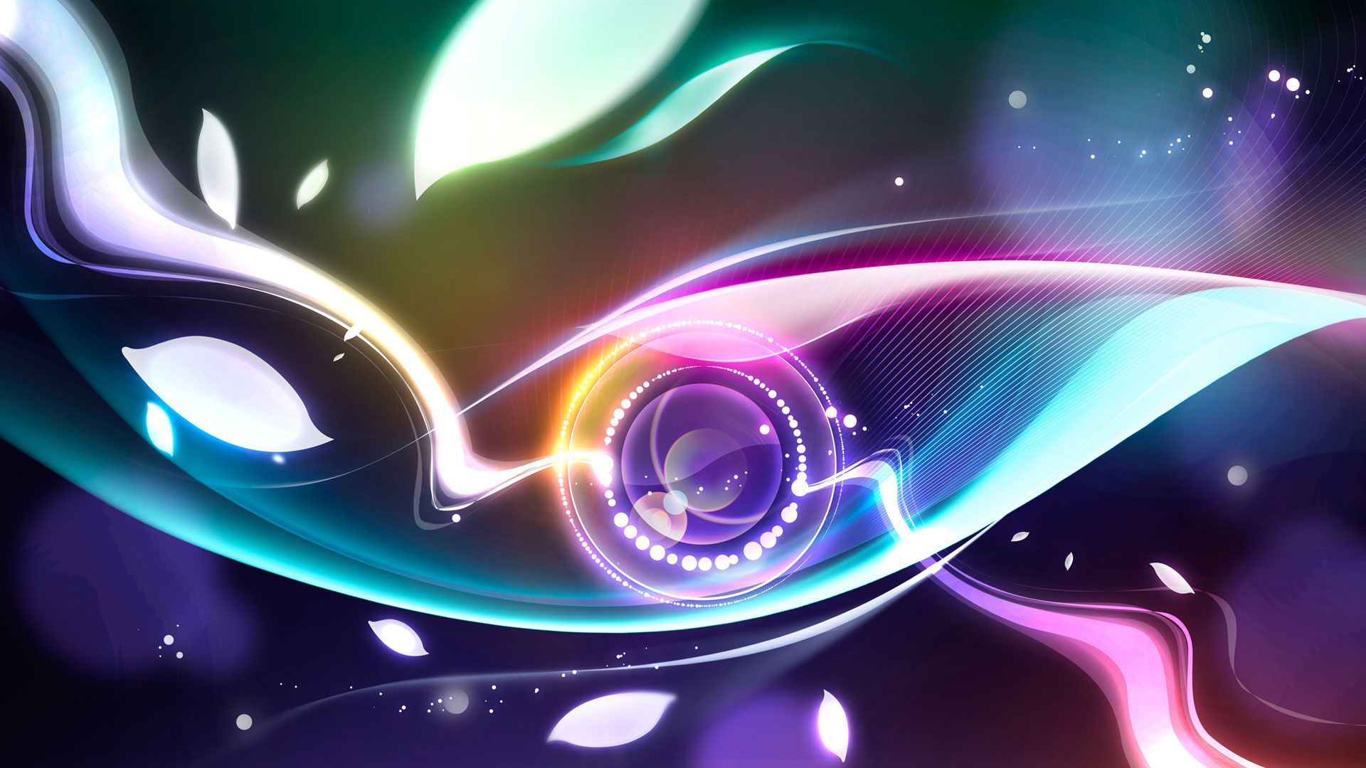 Hd Wallpapers Widescreen 1080p 3d Digital Abstract Eye