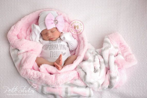 Newborn Girl Take Home Outfit Baby Girl Outfit Baby Shower Etsy Newborn Girl Outfits Newborn Girl Take Home Outfit