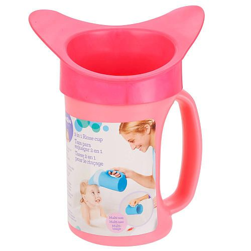 Babies R Us Shampoo Rinse Cup Pink Babies R Us Baby Hospital Bag Baby Shower Woodland