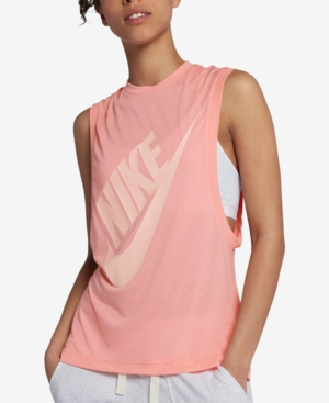 284ce88d96 Nike Sportswear Essential Tank Top - Pink XS | Products in 2019 ...