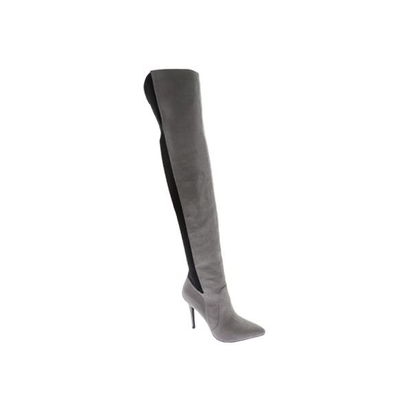 3b641a416 Women s Charles by Charles David Paso Over The Knee Boot - Stone Grey...  ( 149) ❤ liked on Polyvore featuring shoes