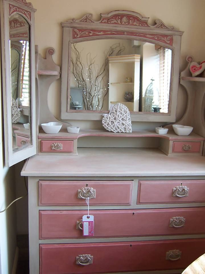 Scandinavian pink country grey chalk paint decorative for Chalk paint comparable to annie sloan