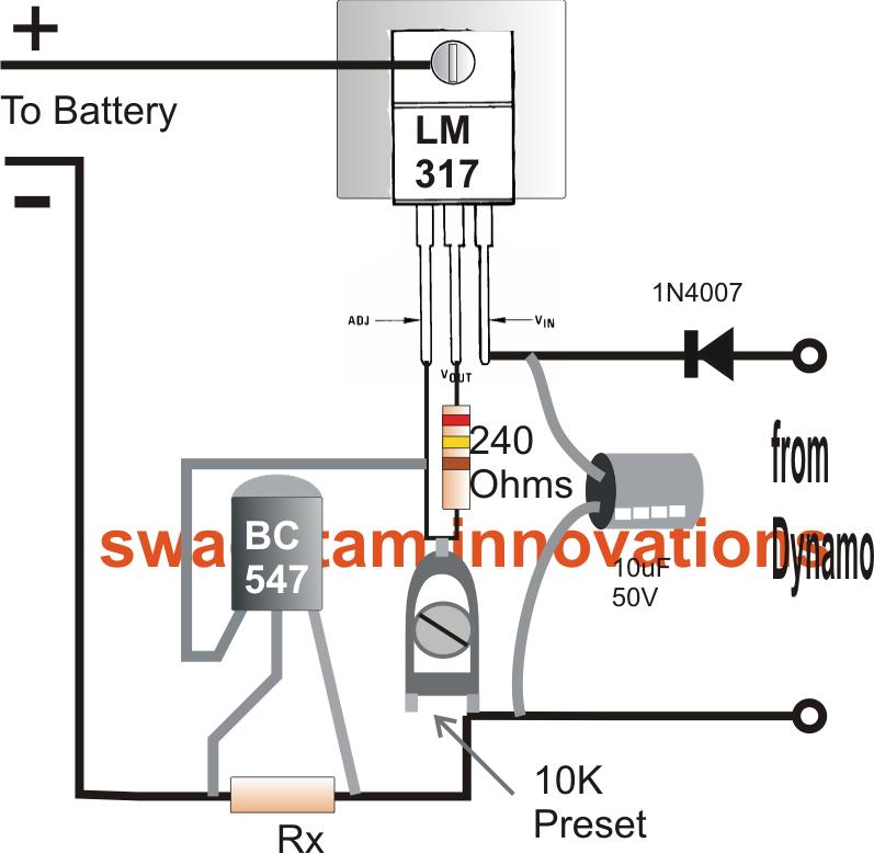 Bicycle Dynamo Battery Charger Circuit Elektronica Printplaat Fiets