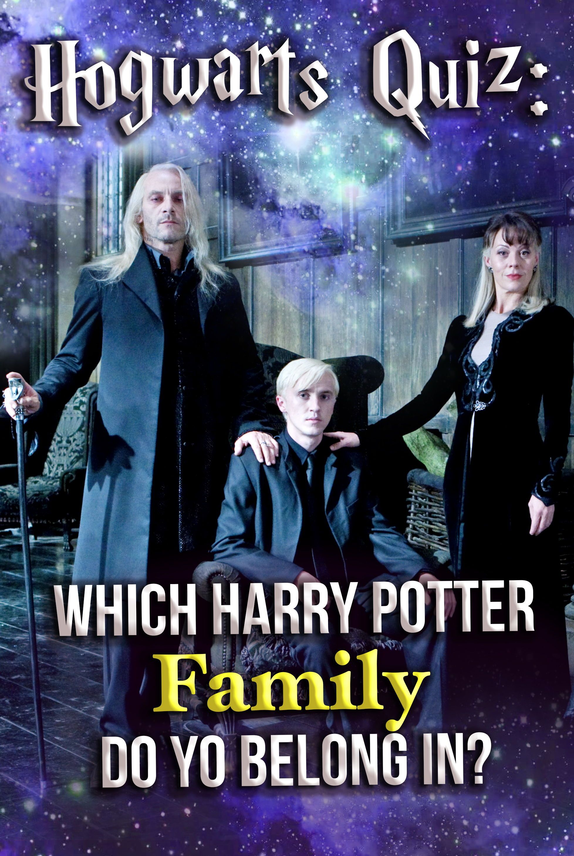 Hogwarts Quiz Which Harry Potter Family Do You Belong In In