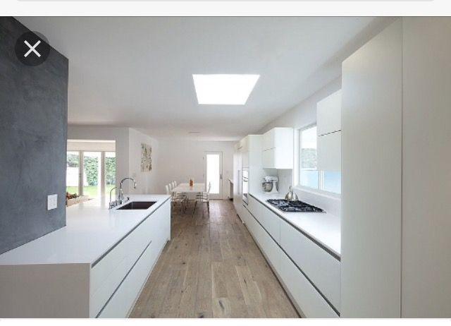Moderne Keukens Wit : Keuken ideeën wit aanrecht huis keuken aanrecht
