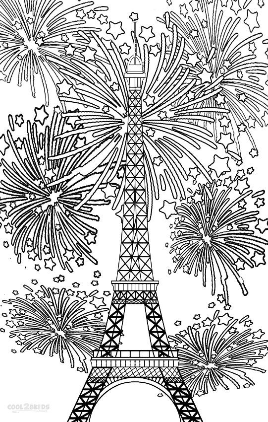 fourth of july coloring pages fireworks 2016 | Printable Fireworks Coloring Pages For Kids | Cool2bKids ...