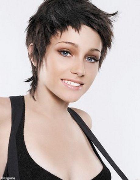 Courte courte femme coiffure Coupe courte femme, Coupe