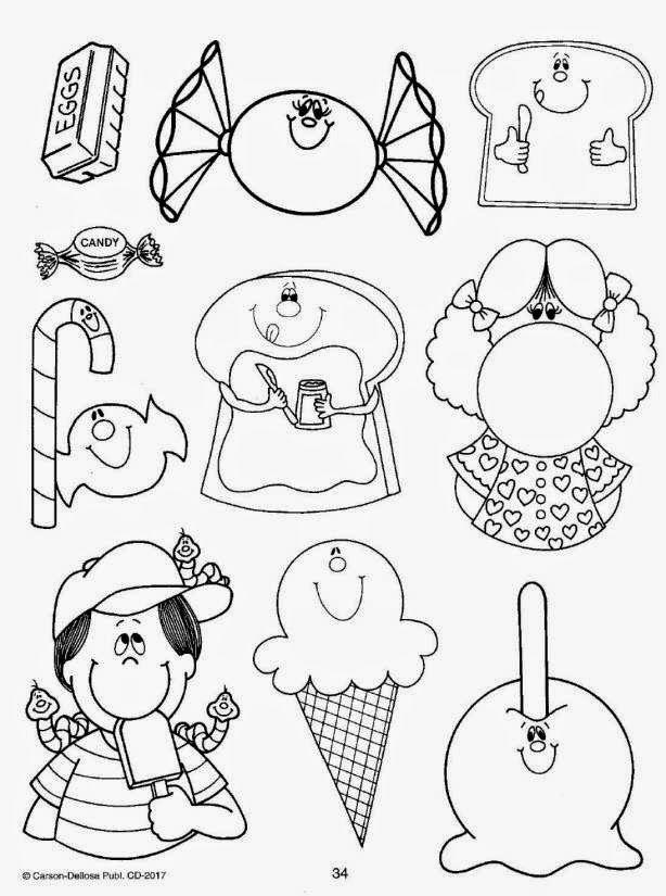 Moldes Para Todo Dibujos Para Ninos Dia Del Nino Manualidades