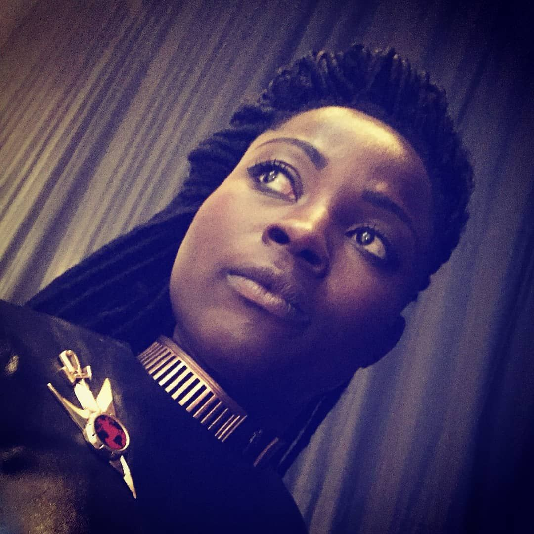 Star Trek Discovery Fandom On Instagram Joann Owosekun Of The Mirror Universe Photo By Ted Sullivan Mirror Universe Star Trek Universe Fandom Star Trek