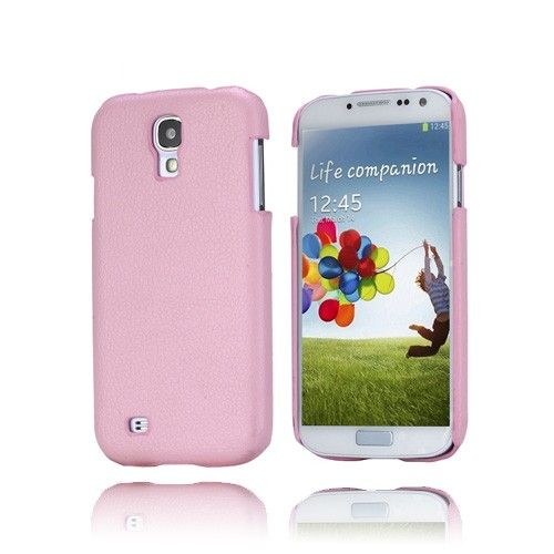 Alpha (Vaaleanpunainen) Samsung Galaxy S4 Kotelo