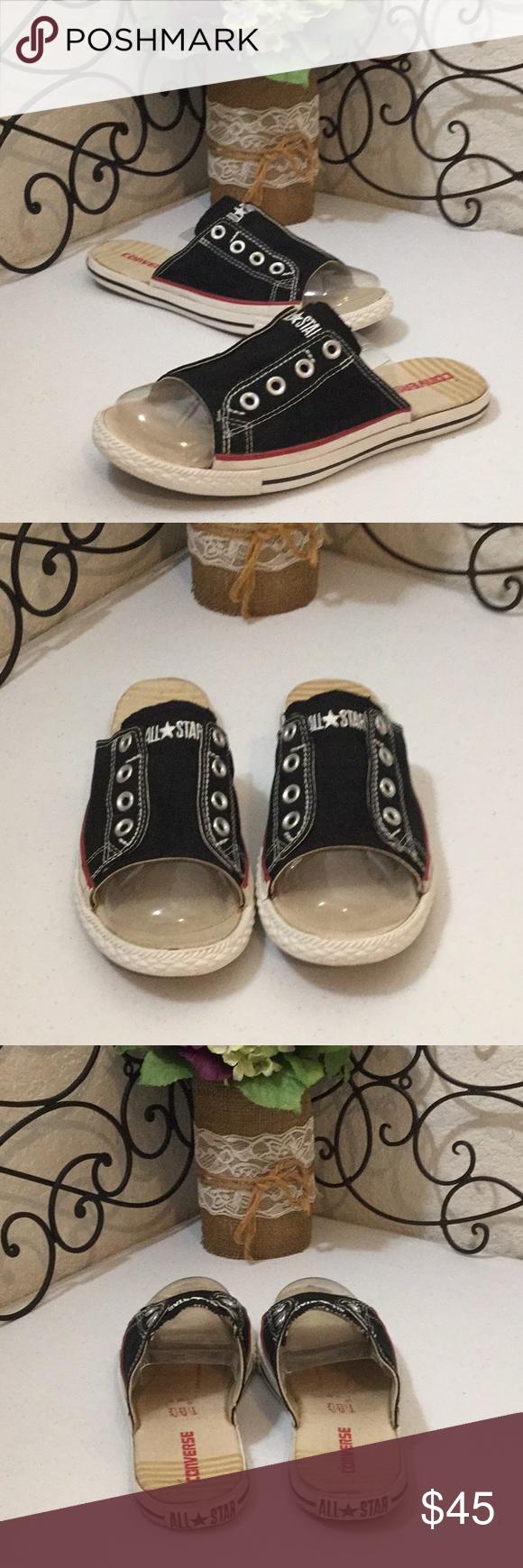 acf678e51ad2 CONVERSE ALL⭐️STAR Sneaker Slides