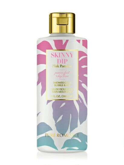 Skinny Dip 2 In 1 Body Wash Bubble Bath In Pink Paradise Pure