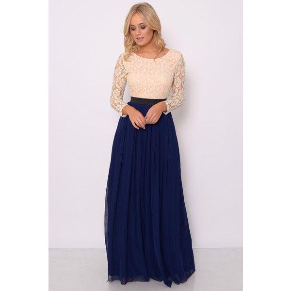 Rare london sequin bodice maxi dress
