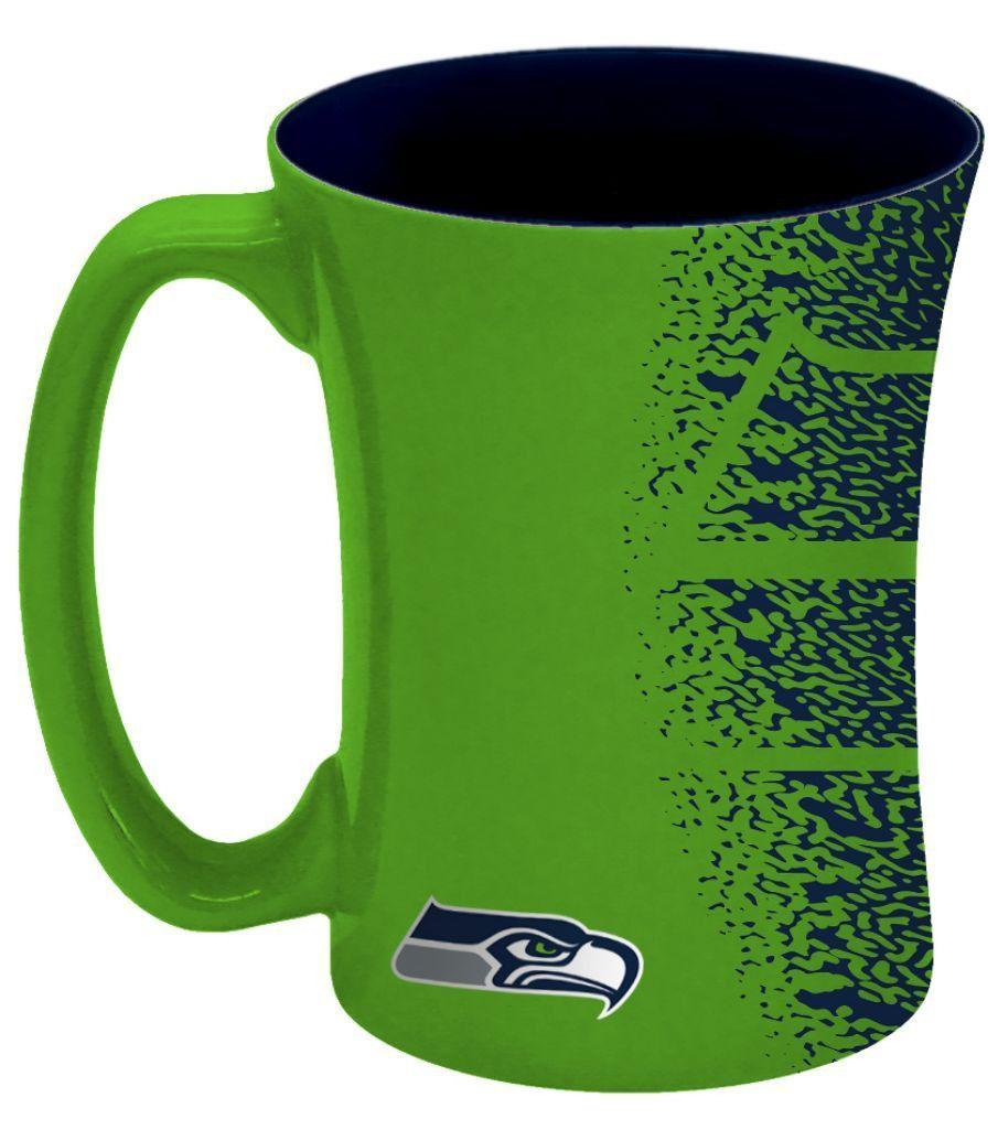 Seattle Seahawks Coffee Mug - 14 oz Mocha